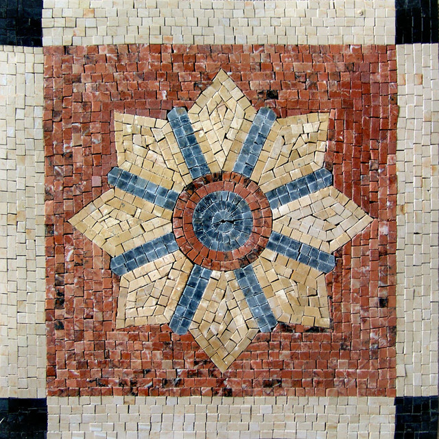 Decorative Stone Tile Mosaic Dara Contemporary Murals