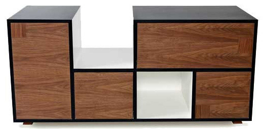 the hoover office storage center - modern - accent chests and