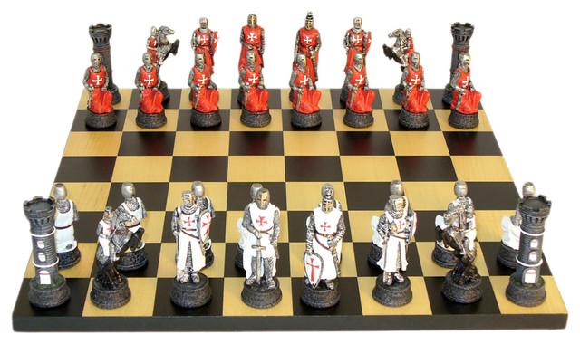 Crusades Chess, Set