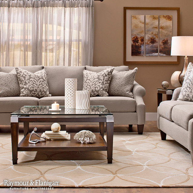 Raymour & Flanigan Furniture and Mattresses Furniture & Accessories.  Tatiana Collection living-room - Tatiana Collection