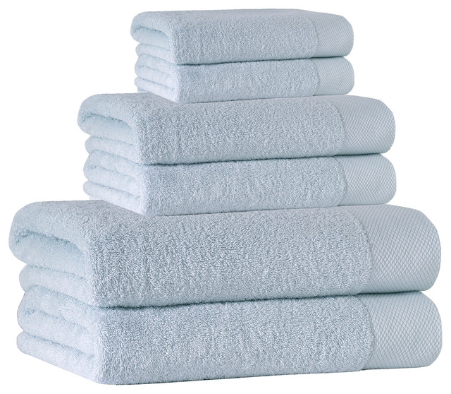 Signature 6-Piece Towel Set, Water Fall