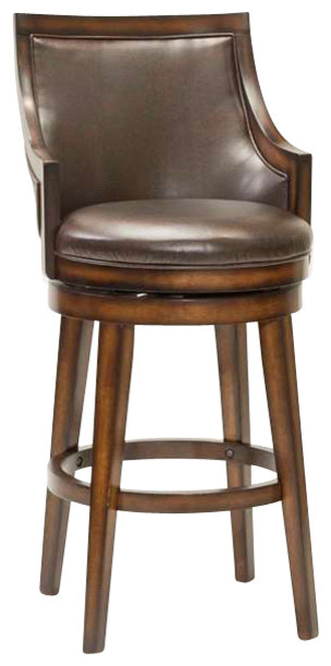 Hillsdale Lyman Swivel Stool Transitional Bar Stools