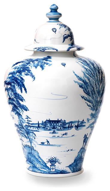 Shop Houzz Juliska Tall Ginger Jar Decorative Jars And