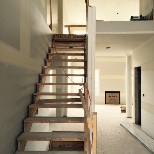 Convert Two Story Foyer To Bedroom : Stairs in two storey foyer