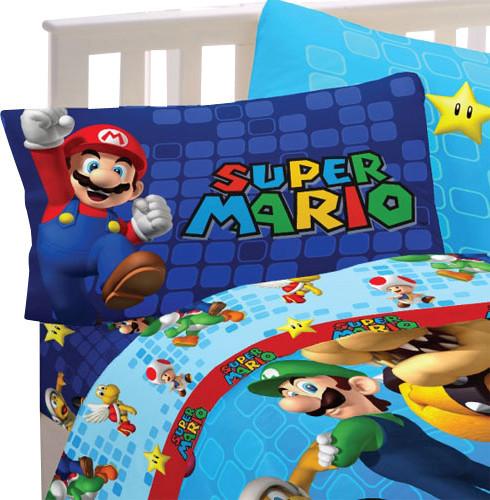 Super Mario Bed Sheet Set Fresh Look Bedding Accessories