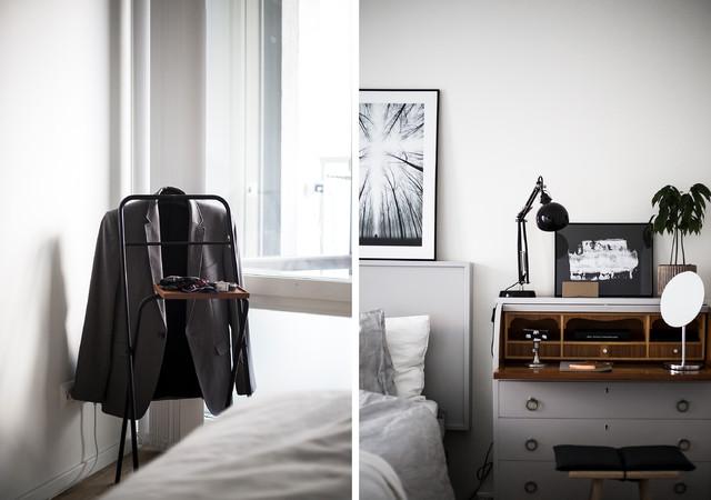 Exempel på ett minimalistiskt hem