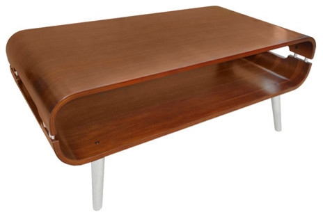 Vers Bent Wood Coffee Table And TV Stand Coffee Tables