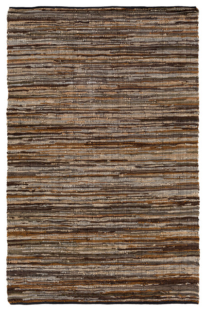 Log Cabin Area Rug 2 X3 Contemporary Area Rugs By Flaird