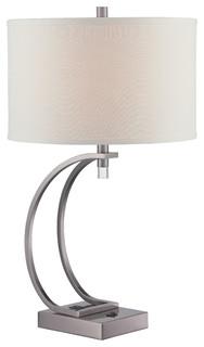 ... Inc. Signature 1-Light Table Lamp in Gun Metal - Table Lamps | Houzz