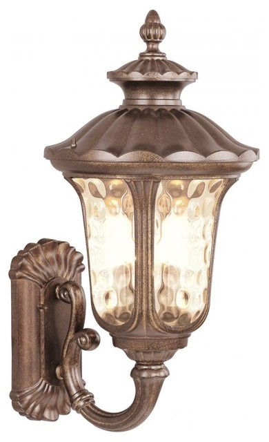 Moroccan Gold Wall Lantern - Outdoor Wall Lights And Sconces - by We Got Lites