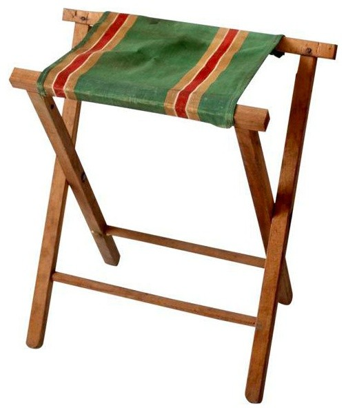 Stupendous Consigned Vintage Folding Camp Stool Bralicious Painted Fabric Chair Ideas Braliciousco