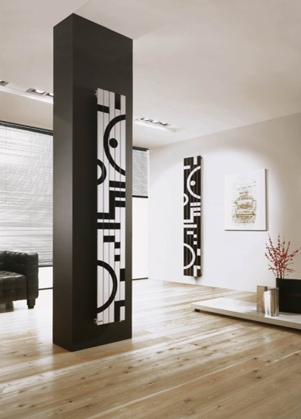 Designer Radiators Contemporary Living Room London By Radiating Style Ltd