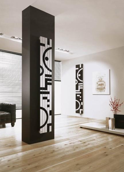 Designer Radiators Contemporary Living Room London By Radiating Style
