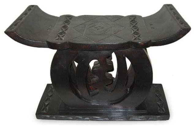 Awesome Handmade No Fear Ashanti Throne Stool Ghana Creativecarmelina Interior Chair Design Creativecarmelinacom