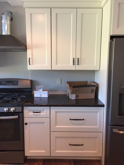 kitchen cabinets too high cabinet pulls hung high change or leave as is 21281