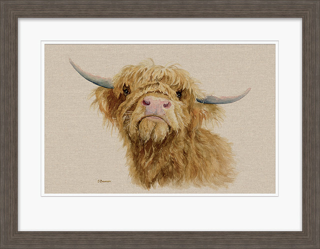 """""""Donald"""" Framed Print by Jane Bannon, 70x90 cm"""