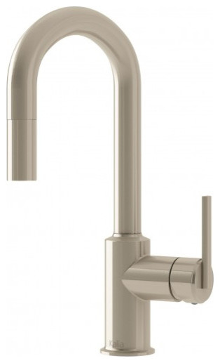 Cite Junior Single Handle Kitchen Faucet Pull-Down Kf1126, Stainless Steel.