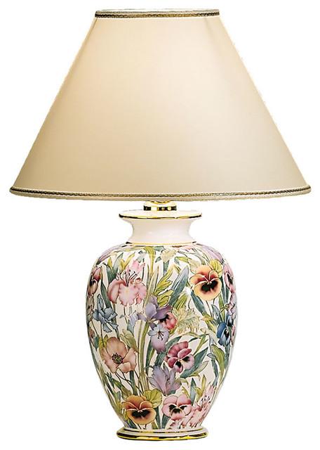 Medium Giardino Table Lamp, Floral