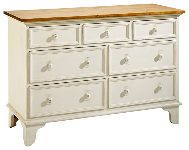 Tibbit&x27;s Hill Chest Of Drawers, Champlain White.