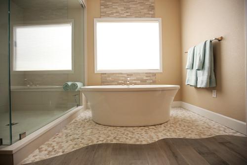 Contemporary Master Bathroom Makeover