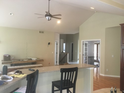 Furniture Placement For Open Concept Long Narrow Living