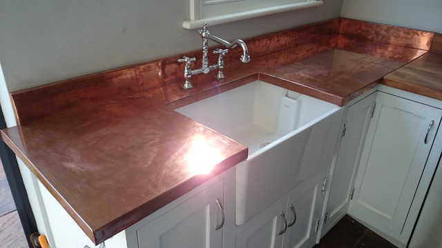 Copper Worktops London By Tipfords
