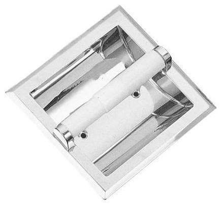 Proflo PFLLRTPH Recessed Closet Tissue Paper Holder, Chrome