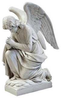 Kneeling Angel Praying Garden Angel Statue Traditional