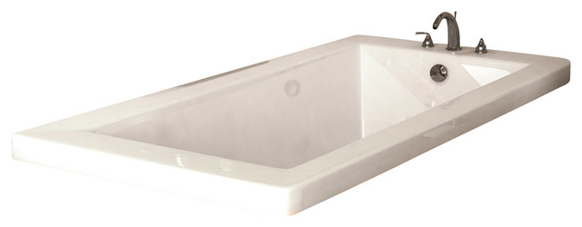 Atlantis Tubs 3060vn Venetian 30x60x23 Inch Rectangular Soaking Bathtub.