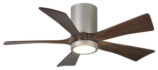 "Irene 5 Blade 60"" Paddle Fan With Light Kit"