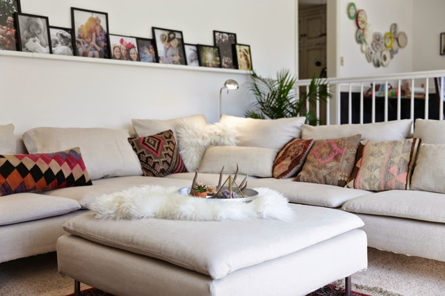 ikea soderhamn slipcovers close up footstool classique chic housse de canap et de chaise. Black Bedroom Furniture Sets. Home Design Ideas