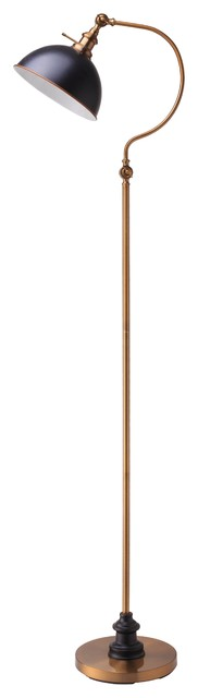 "Major-Q Classic 69"" Arched Floor Lamp 31180f, Ab."