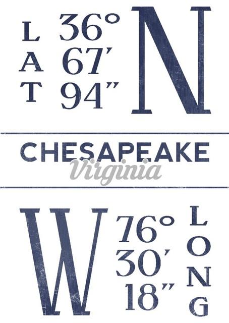Quot Chesapeake Virginia Latitude And Longitude Blue