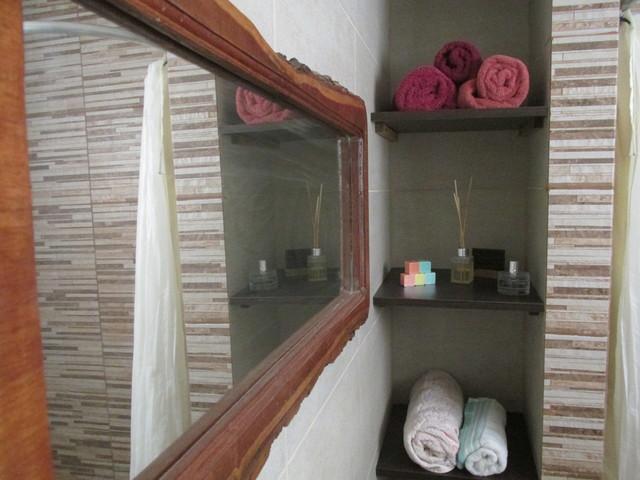 Foto de diseño residencial rústico pequeño