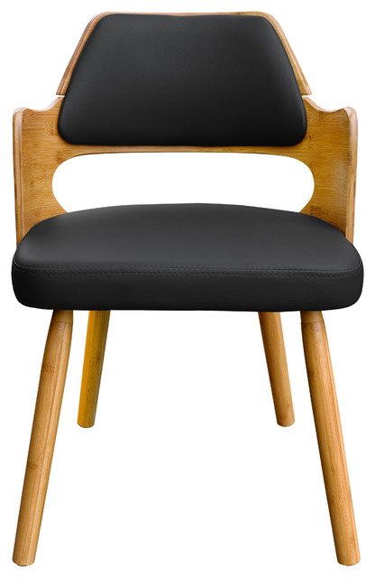 Admirable Aura Bamboo Dininig Chair Black Pabps2019 Chair Design Images Pabps2019Com