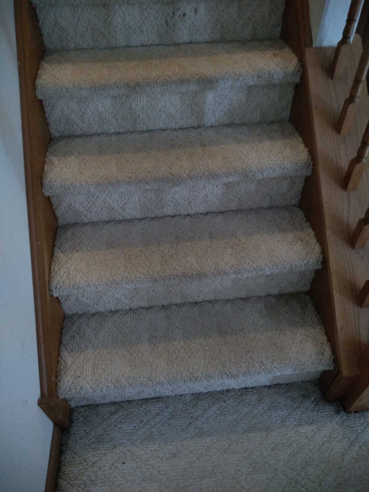 Upgrade old stairs for home-sale