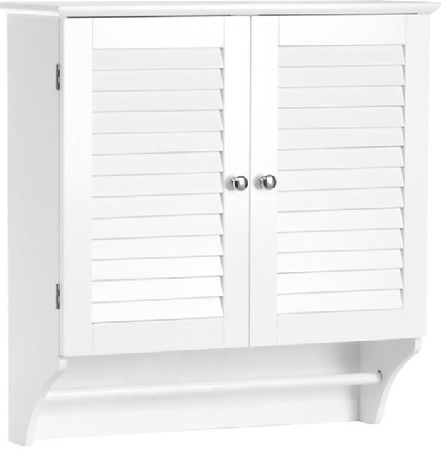 Double Door Wall Mounted Bathroom, Wall Hanging Bathroom Cabinets