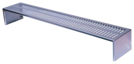 "Profire Pf48wrm 48"" Stainless Steel Warming Shelf/rack."