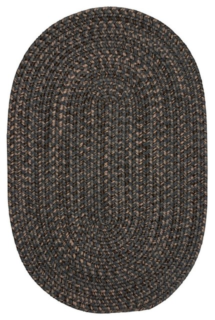 Colonial Mills Hayward Hy29 Charcoal Traditional Area Rug