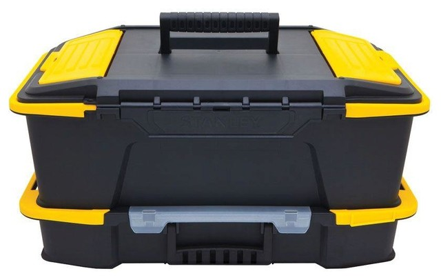 Click 'N' Connect Deep Tool Box and Organizer - Traditional - Garage And Tool Storage - by ...