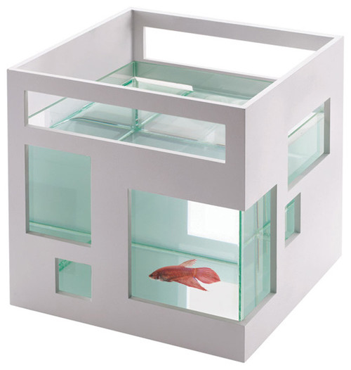 Fish hotel by Teddy Luong for Umbra modern pet accessories