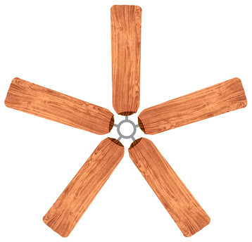 Redwood Fan Blade Covers Set Of 5