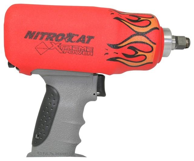 Nitrocat Red Flame Impact Boot 1200-K.