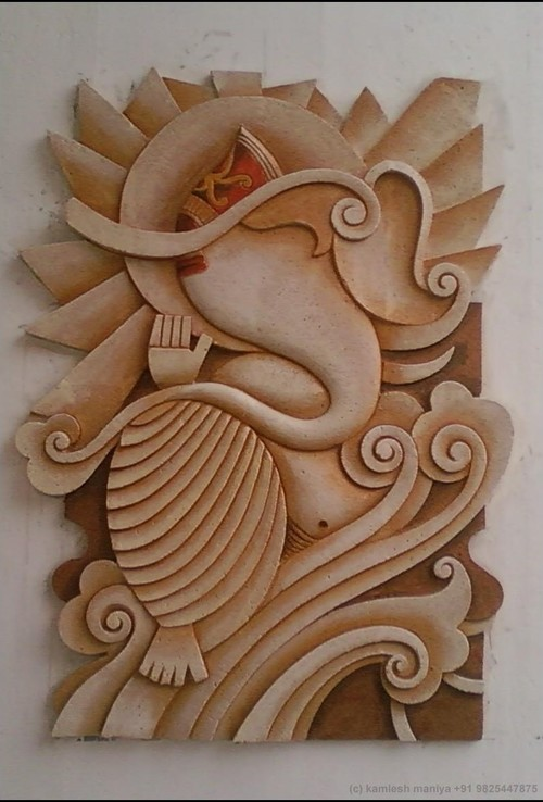 Wall relief art for Ceramic mural designs