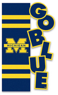 University of Michigan Garden Flag - Transitional - Flags And ...
