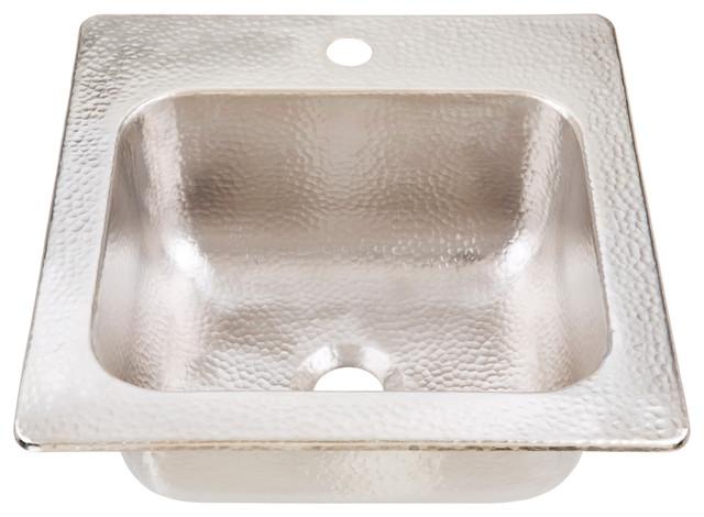 "Homer 15"" Drop-In Handcrafted Bar Prep Sink"