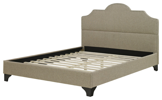 Antioch Upholstered Platform Bed, Twin.
