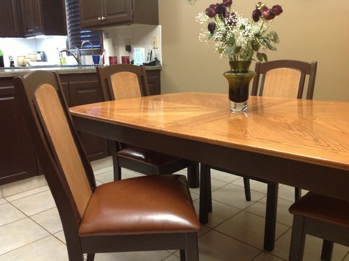 Dining Room Table/chairs Update