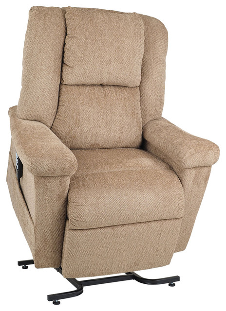 Zero Gravity Lift Chair Recliner With Power Pillow Transitional Lift Chairs By Rlb Furnishings