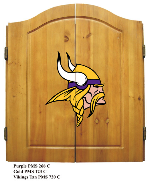 Minnesota Vikings Dart Cabinet - Traditional - Darts And Dartboards - by Imperial International